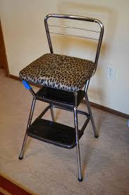Cosco Retro Chair With Step Stool Black by Babblings And More April 2012