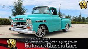 1959 Chevrolet Apache For Sale #2163578 - Hemmings Motor News 1959 Chevrolet Apache Duffys Classic Cars Vintage Chevy Truck Pickup Searcy Ar Gmc For Sale New Stepside 1961 Sale 83679 Mcg 1998 Chevy Truck Ck 1500 Custom 1958 3200 Dyler 135820 Rk Motors And Performance For 1952 With A Vortec 350 Engine Swap Depot Barn Stored 1955 Vintage Truck Image Of 1960 2085097 Hemmings Motor News