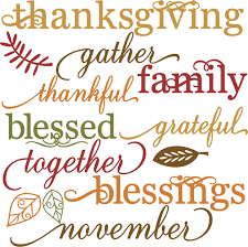 Religious thanksgiving clipart kid