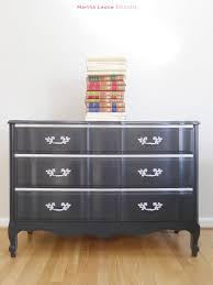 Kent Coffey French Provincial Dresser by Black Dresser Martha Leone Design