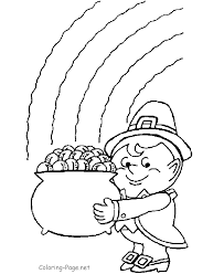 St Patricks Day Fabulous Leprechaun Coloring Pages