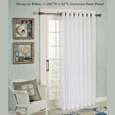 Patio Door Curtains For Traverse Rods by Patio Door Curtain Panels Touch Of Class