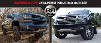 Get Rocky Ridge Ridge Trucks At Champion Chevrolet Of Avon | Avon ...
