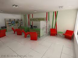 Travel Agency Office Interior Design Impressive Paint Color Style Fresh At