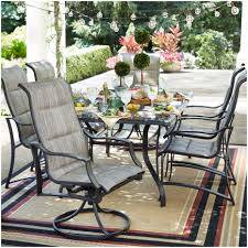 Walmart Patio Cushions Canada by Furniture Patio Dining Sets On Sale Statesville 7 Piece Padded