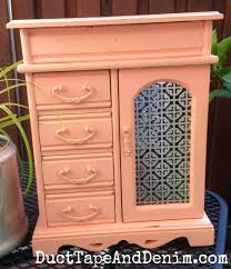 Americana Decor Chalky Finish Paint Colors by Americana Decor Chalky Finish Paint On Jewelry Cabinet