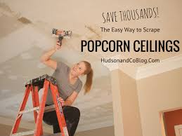Popcorn Ceiling Asbestos Danger by Hudson And Company May 2015