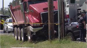 1 Dead After Vehicle Collides With Dump Truck On City's East Side