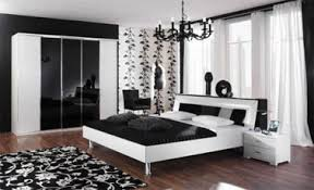 Black Bedroom Inspiration Ideas And White Bed X 326 Px