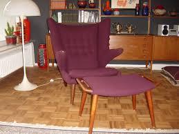 Vintage Hans Wegner Papa Bear Chair by Hans Wegner U201cpapa Bear U201d Armchair Reupholstery Transformation