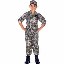 Army Camo Bathroom Decor by U S Army Camo Set Child Halloween Costume Walmart Com
