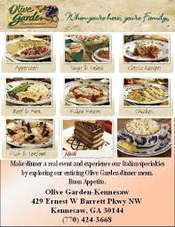 Olive Garden Catering Menumenu World