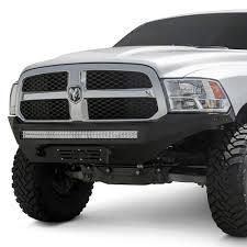 100 Ram Trucks 2013 Addictive Desert Designs Stealth Fighter Full Width Black Front HD Bumper