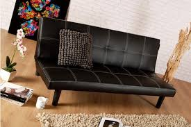 Marks And Spencers Leather Sofas by Single Faux Leather Sofa Bed In Black Spencer Sofabed Free