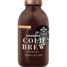 StarbucksR Bottled Cold Brew Cocoa And Honey With Cream