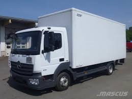 Mercedes-Benz ATEGO 816_van Body Trucks Year Of Mnftr: 2014. Pre ...