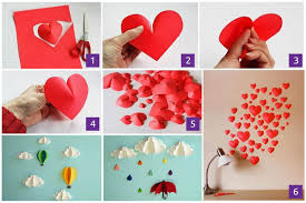 Our Favorite Paper Heart Wall Decor