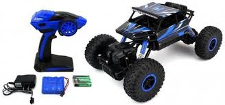 Webby Remote Controlled Rock Crawler RC Monster Truck - Remote ...