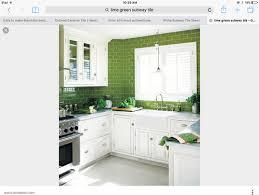 choosing backsplash white or lime green subway tile