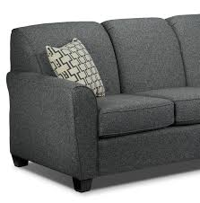 Hodan Sofa Chaise Dimensions by Ashby Chaise Sofa Grey Leon U0027s