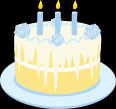 Vanilla Birthday Cake Clip Art Free Clip Art