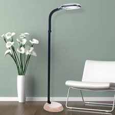 Overhanging Floor Lamp Ebay by Large Floor Lamps Classic Extra Large Brushed Steel And Wood