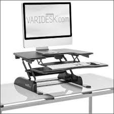 Varidesk Pro Plus 36 by Varidesk Pro Plus Varidesk Pro Plus Height Adjustable Standing
