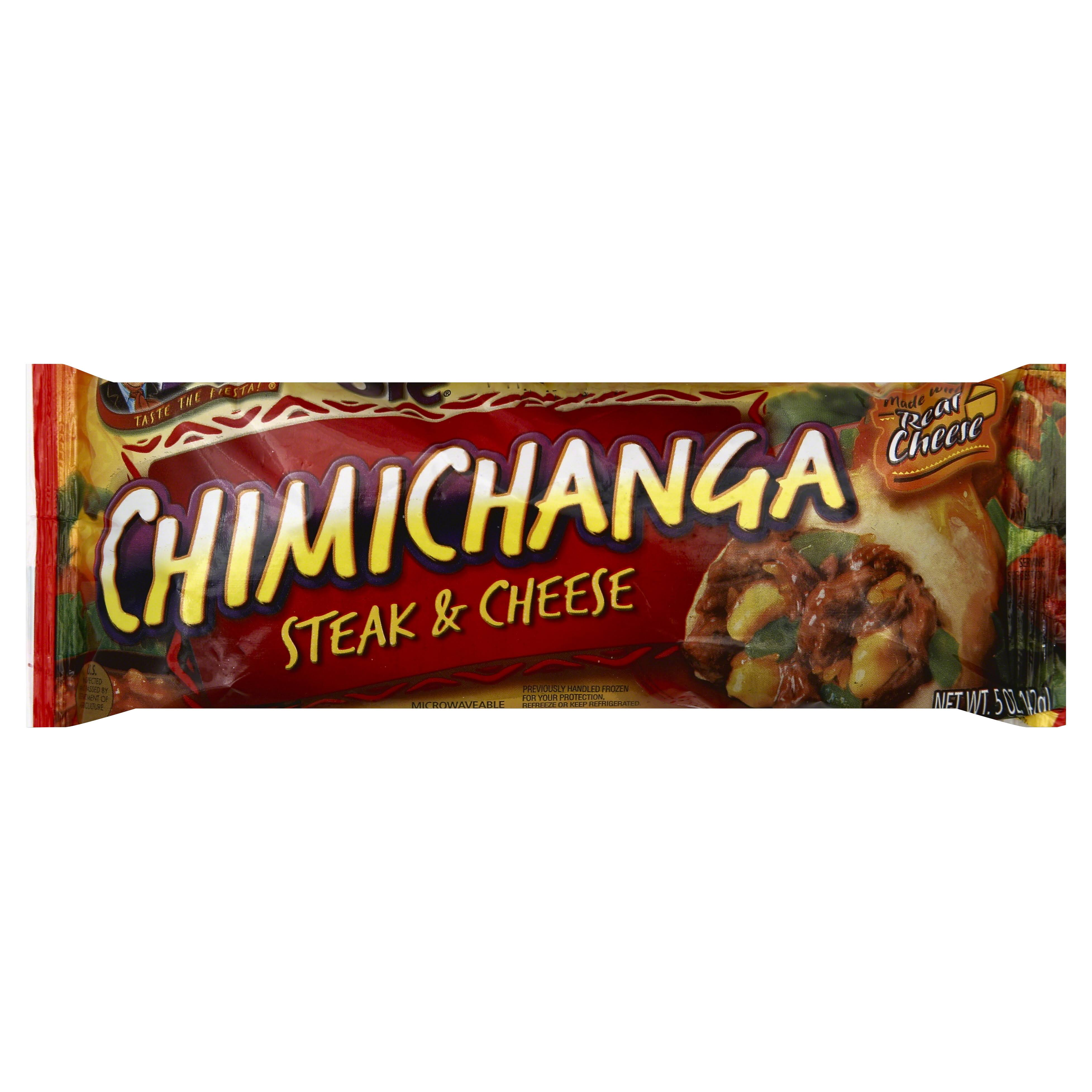 Jose Ole Steak and Cheese Chimichanga - 5oz