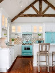 Get The Look Colorful Retro Inspired Kitchens KitchensRetro AppliancesColorful Kitchens1950s