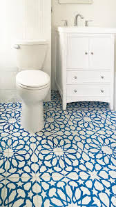 cement tile adds pattern color to traditional bath avente tile