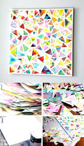 Art N Craft Ideas At Home Cool Decor Wall For You To