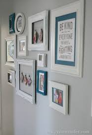 Cute Gallery Wall That Includes The Thermostat So It Doesnt Draw Attention