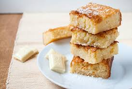 weiße schoko kokos blondies kaffee cupcakes