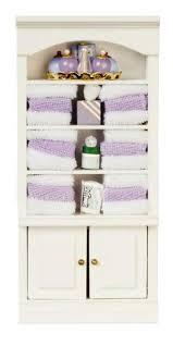 melody puppenhaus regal mit lila zubehör badezimmer möbel