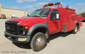 100 Service Truck 2008 Ford F550 Super Duty XL Service Truck With Crane Item