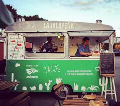 100 La Taco Truck Mexican Cuisine Served From Food Truck In France