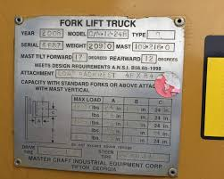 100 Mastercraft Truck Equipment 51451 Darr Co