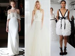 Spring 2018 Bridal Fashion Week Wedding Dress Trends