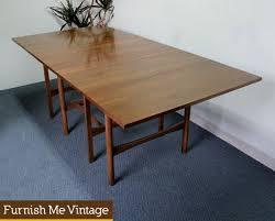 vintage american of martinsville drop leaf table