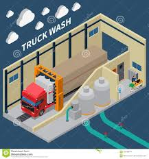 Truck Wash Isometric Composition Stock Vector - Illustration Of ... High Quality Automatic Truck Washing Machine Systems Equipment For 2016 New Generation Fully Tunnel Bus Wash Machine6 Start A Pssure Business With The Top Rated Dan Best Image Kusaboshicom Car Auto Rack Case Study Heavy Duty System Hydrochem Inc Fleet Faest Growing Filtration Industries And Applications Mw Watermark Waswater Treatment Mobile Train Cleaning Machines Manufacturer In India