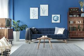 bilder wohnzimmer blau caseconrad