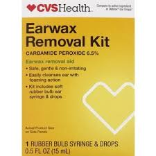 cvs health earwax remove kit cvs