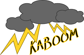 Kaboom Clip Art At Clker
