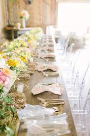 Jorgensen Farms Wedding Head Table Garland