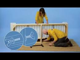 Strandmon Wing Chair Assembly by Ikea Ektorp Sofa And Chaise Assembly Instructions Youtube