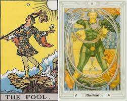 thoth deck the fool the of caverns a thoth day s