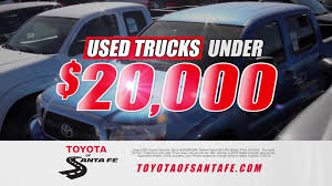 PreGrand Opening Offers Incl Trucks Under $20,000 At Toyota Of Santa ... Home 2001 Freightliner Fld128 Semi Truck Item Da6986 Sold De Commercial Vehicles For Sale In Denver At Phil Long Old Pickup Trucks For In New Mexico Inspirational Semi Tractor 46 Fancy Autostrach Grove Tm9120 Sale Alburque Price 149000 Year Bruckners Bruckner Truck Sales Used Forklifts Medley Equipment Ok Tx Nm Brilliant 1998 Peterbilt 377 Used Chrysler Dodge Jeep Ram Dealership Roswell 1962 Chevy Truck For Sale Russell Lees Road