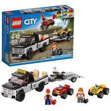 100 Atv Truck LEGO City Great Vehicles ATV Race Team 60148 Walmartcom