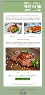 newsletter cuisine 14 newsletter designs your customers will