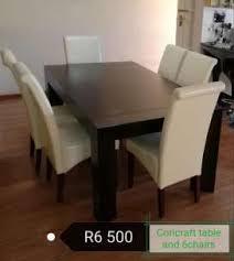 Coricraft 6 Seater Dining Set